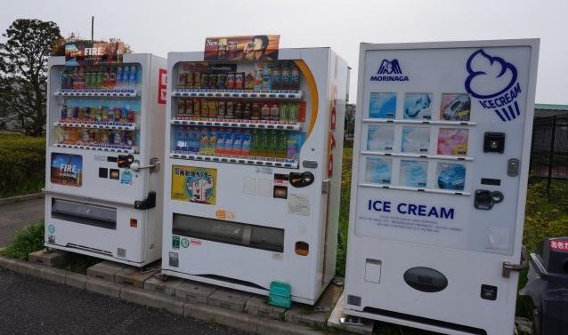 ギオンスタジアム ジョギングコース 自販機